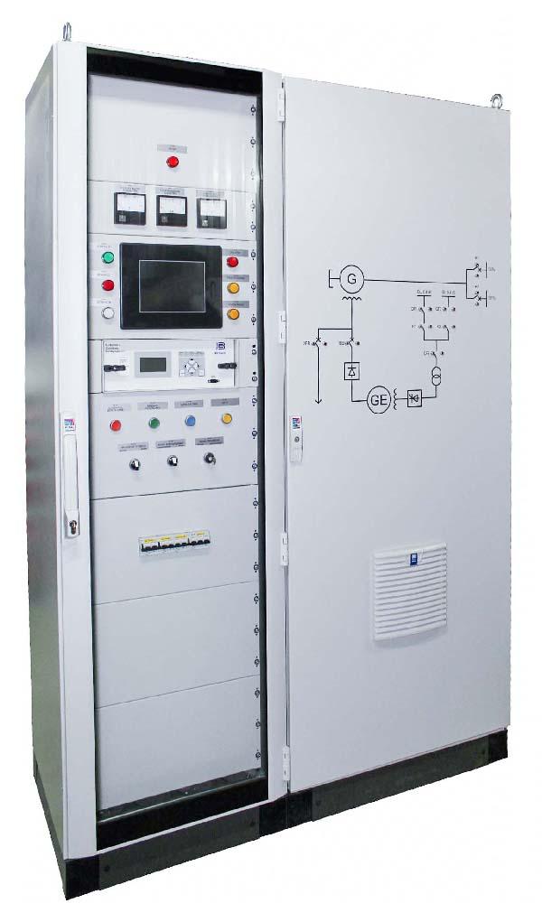 система возбужения генераторов